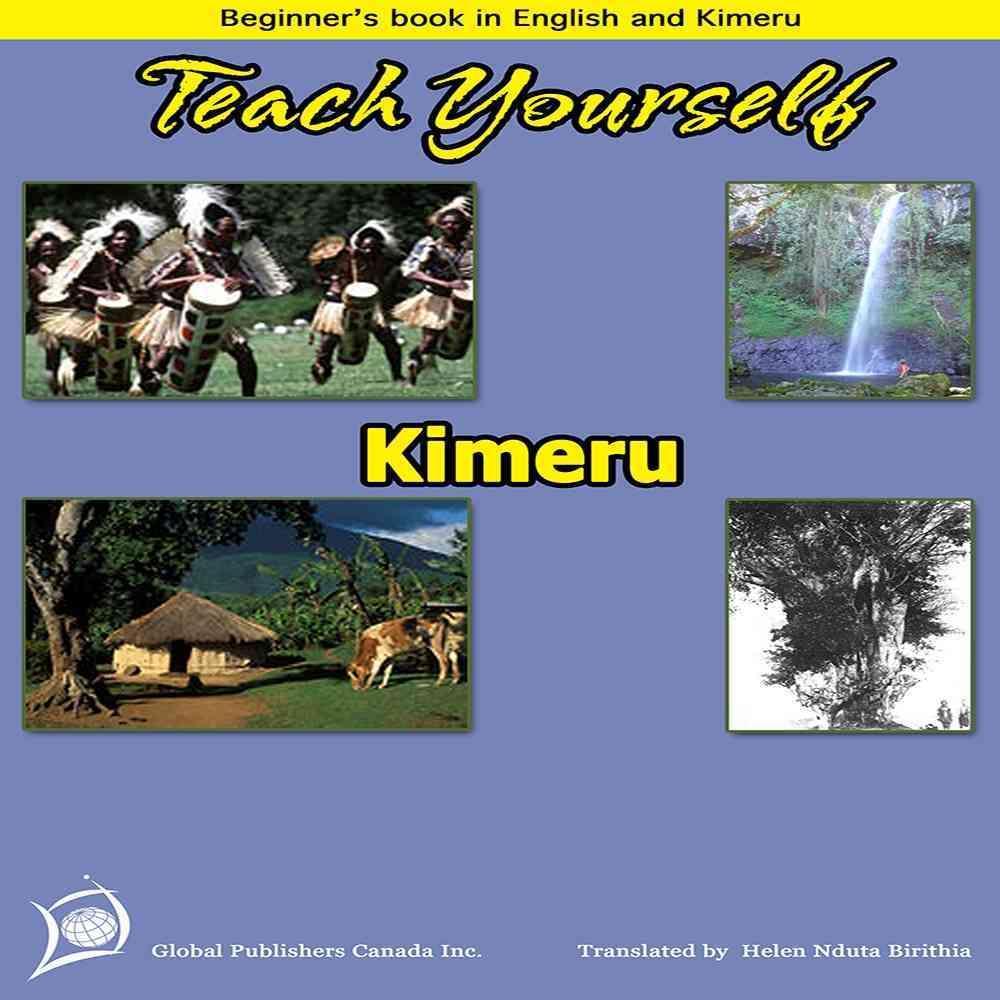 Teach yourself Kimeru (Learn Kimeru) EB9780987833938