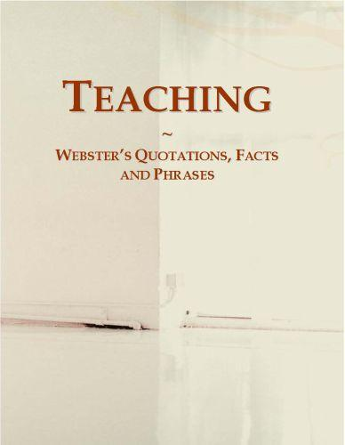 Teaching: Webster?s Quotations, Facts and Phrases EB9780546669909