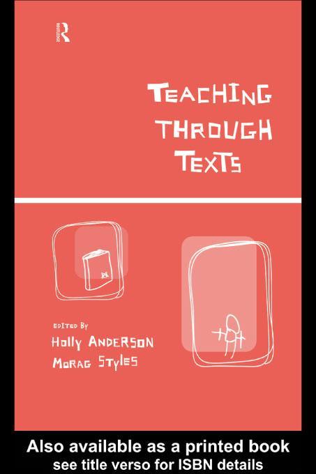 Teaching Through Texts EB9780203161777