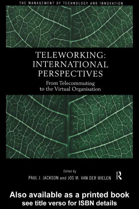 Teleworking EB9780203053089