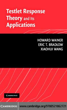 Testlet Response Theory and Its Applications EB9780511276163