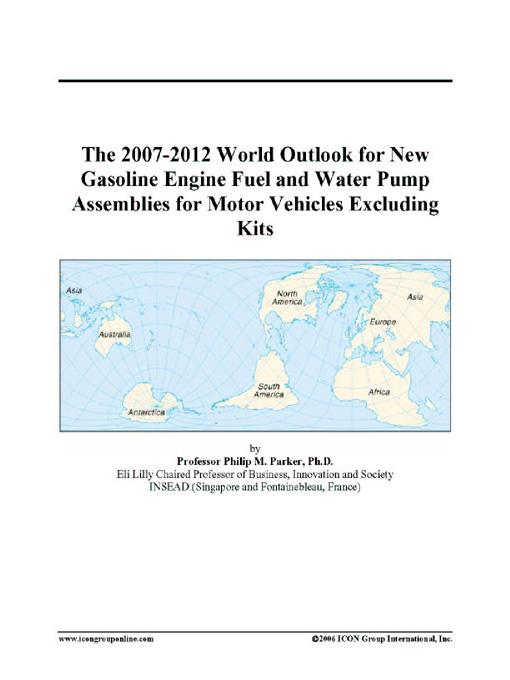 The 2007-2012 World Outlook for New Gasoline Engine Fuel and Water Pump Assemblies for Motor Vehicles Excluding Kits