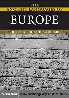 The Ancient Languages of Europe EB9780511389443