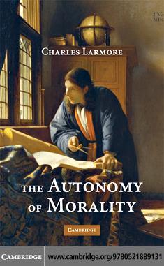 The Autonomy of Morality EB9780511426605