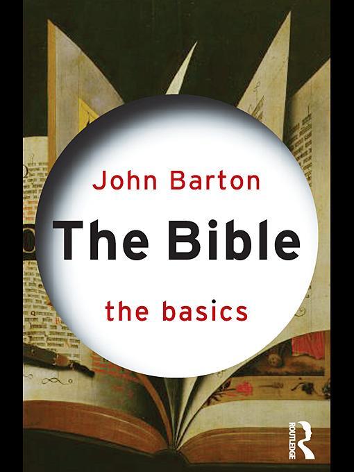 The Bible: The Basics EB9780203859988
