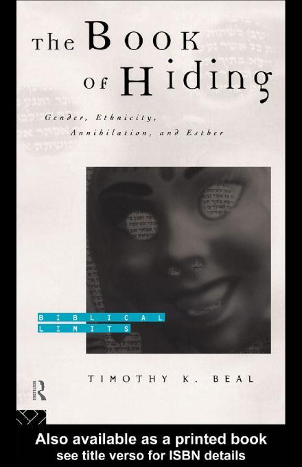 The Book of Hiding EB9780203179345