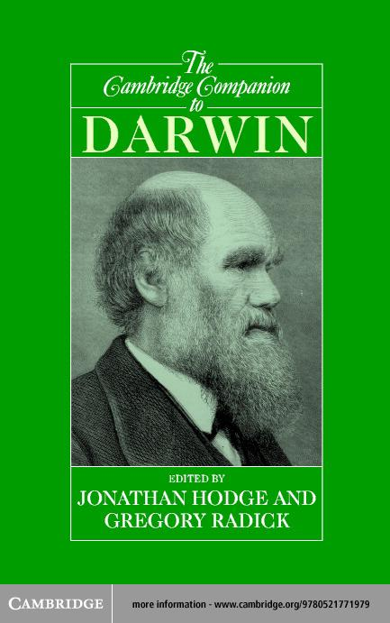 The Cambridge Companion to Darwin