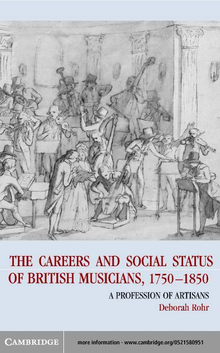 The Careers of British Musicians, 1750-1850 EB9780511038648