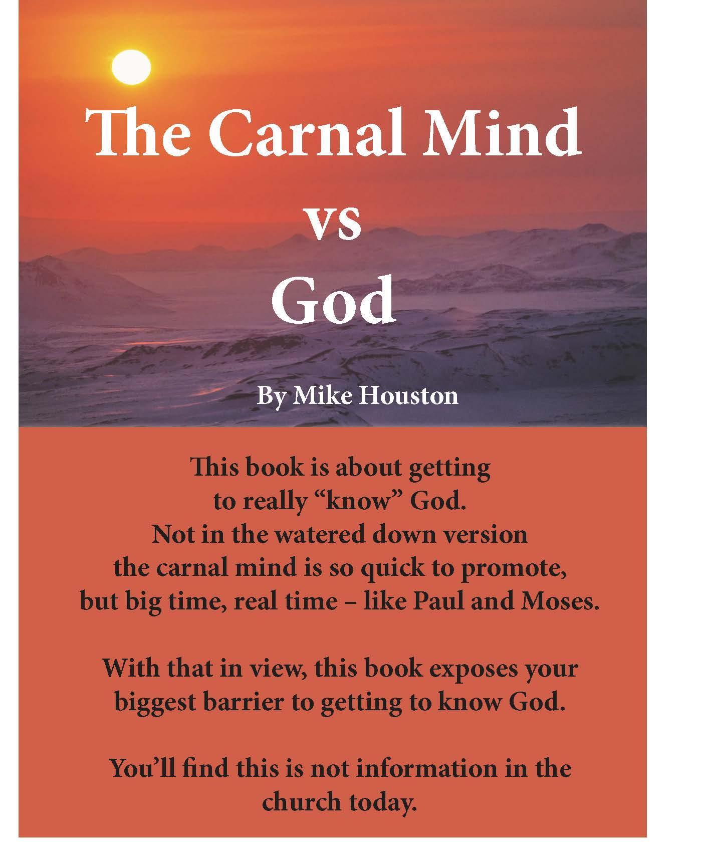 The Carnal Mind vs God EB9780984739219