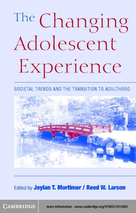 The Changing Adolescent Experience EB9780511058622