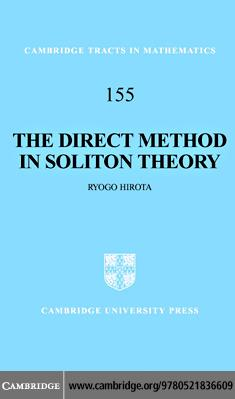 The Direct Method in Soliton Theory EB9780511207686