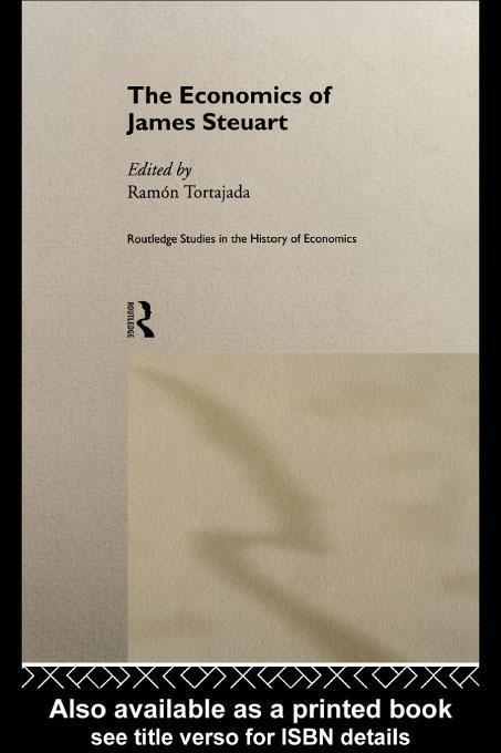 The Economics of James Steuart EB9780203751589
