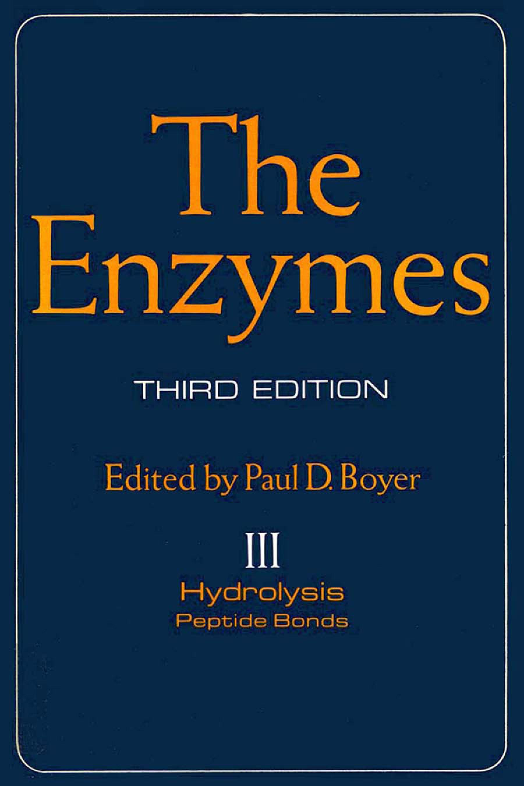 The Enzymes EB9780080865805