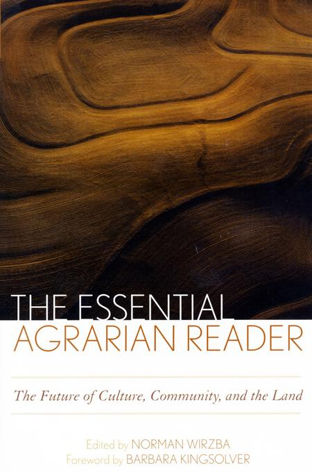 The Essential Agrarian Reader EB9780813138312