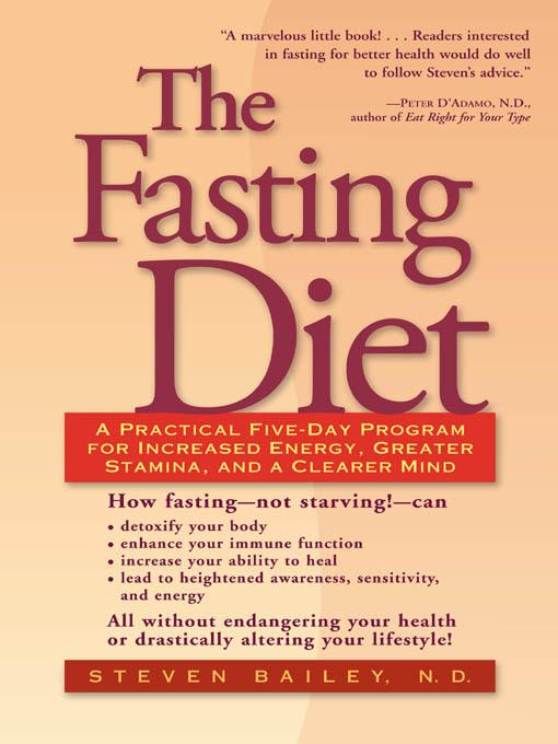 The Fasting Diet