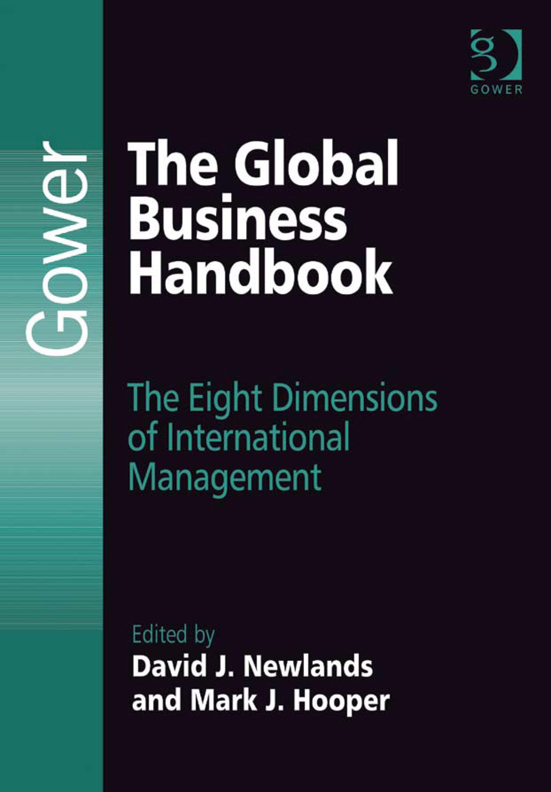 The Global Business Handbook: The Eight Dimensions of International Management EB9780754681373
