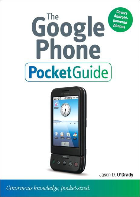 The Google Phone Pocket Guide EB9780321657862