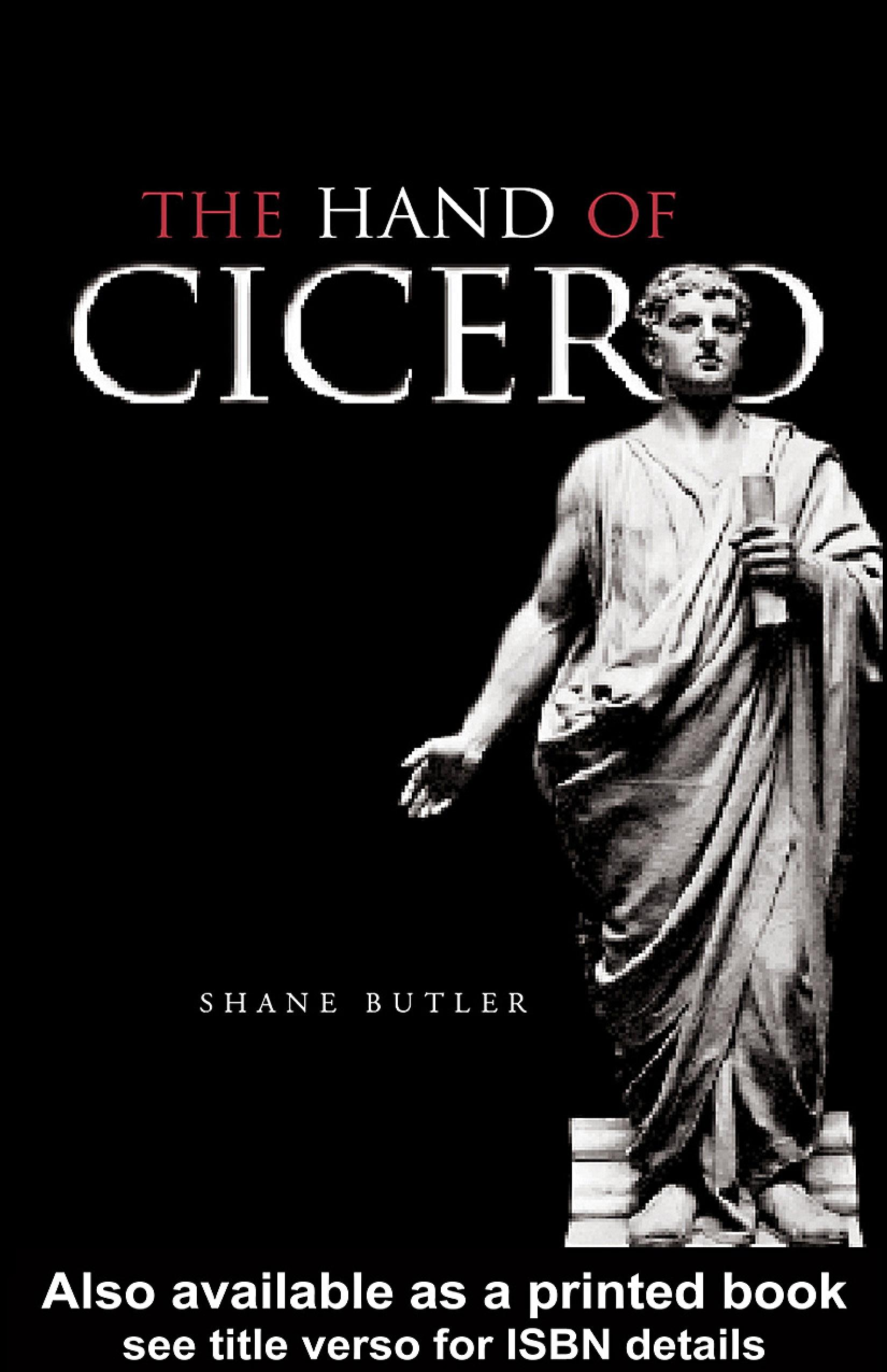 The Hand of Cicero EB9780203995204