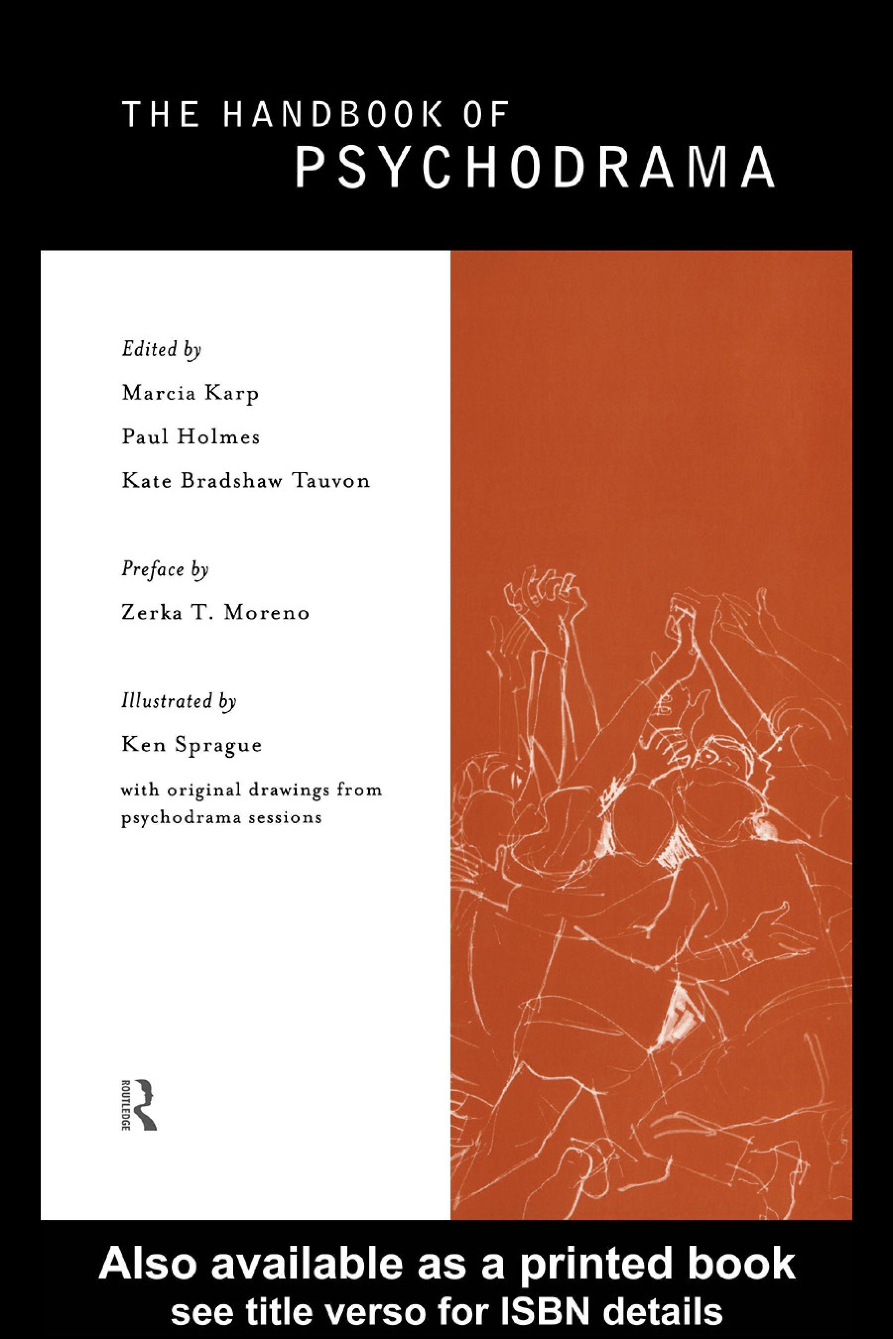 The Handbook of Psychodrama EB9780203977767