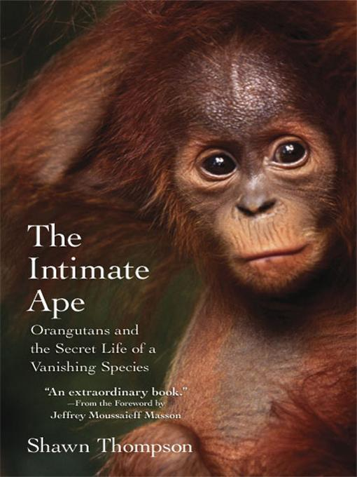 The Intimate Ape EB9780806533896