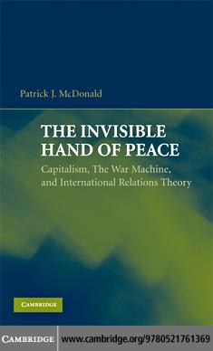 The Invisible Hand of Peace EB9780511501388