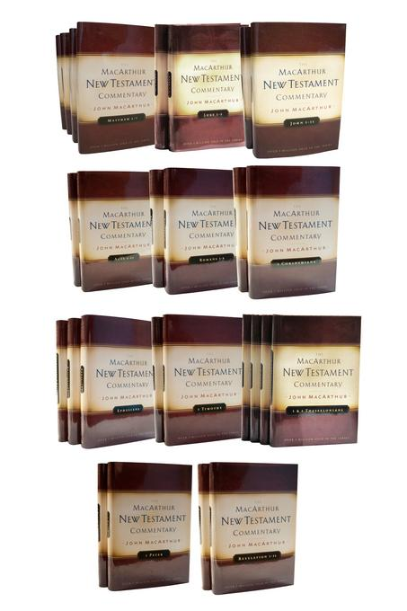 The MacArthur New Testament Commentary Set EB9780802482693
