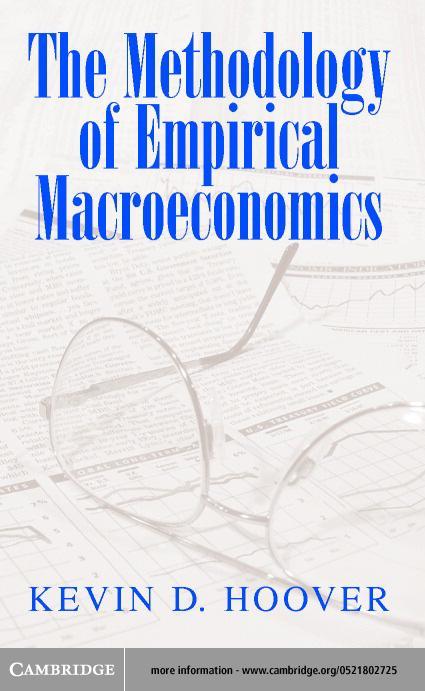 The Methodology of Empirical Macroeconomics EB9780511032615