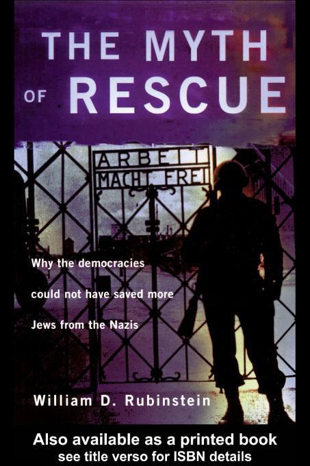 The Myth of Rescue EB9780203207017