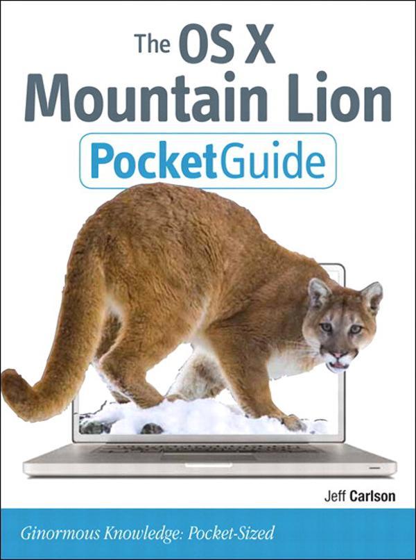 The OS X Mountain Lion Pocket Guide EB9780133087109