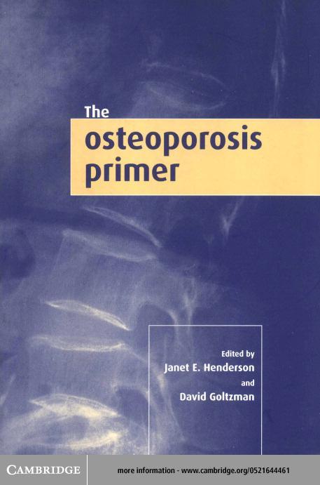 The Osteoporosis Primer EB9780511036750