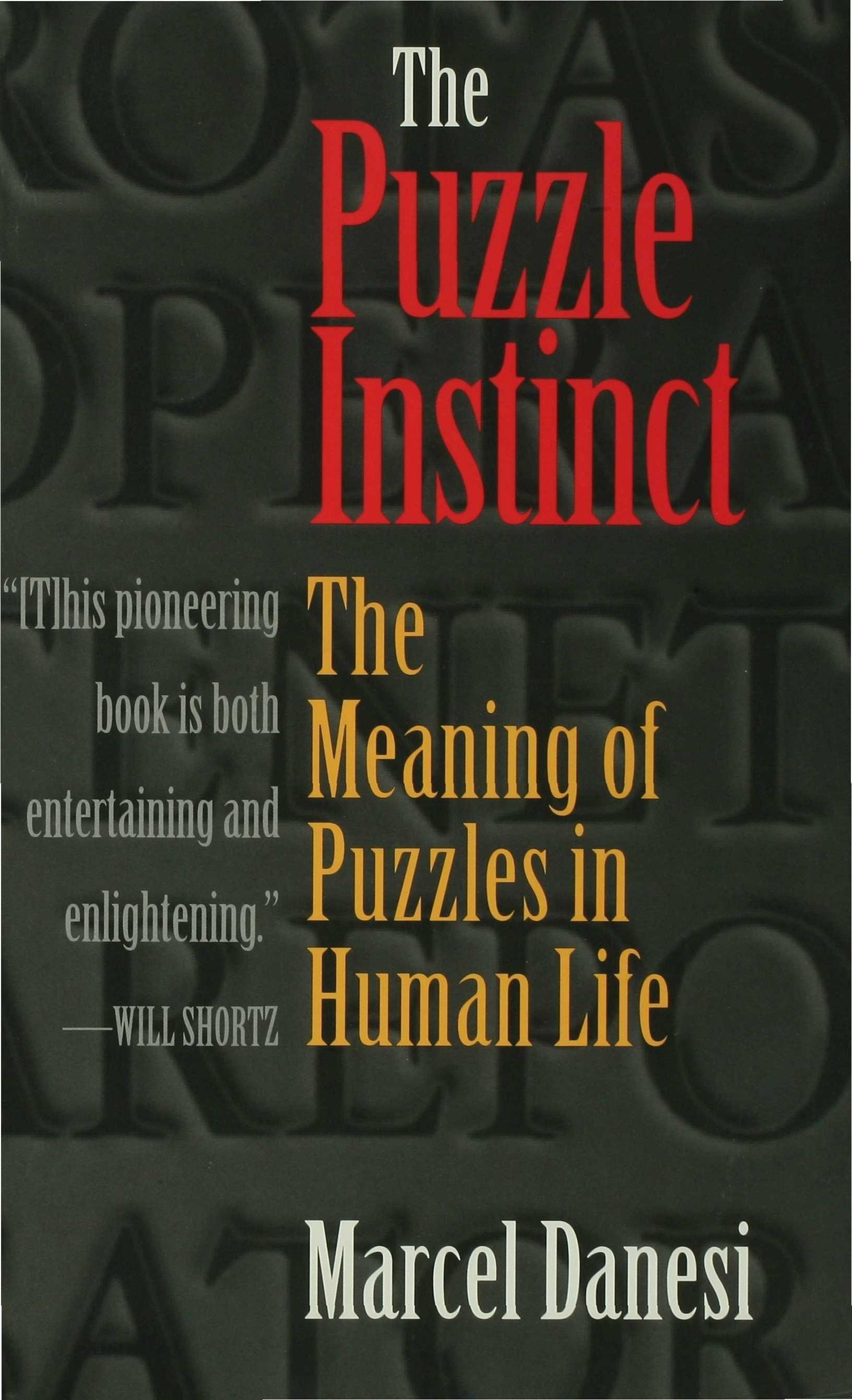 The Puzzle Instinct EB9780253109194
