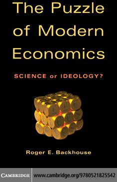 The Puzzle of Modern Economics EB9780511784583