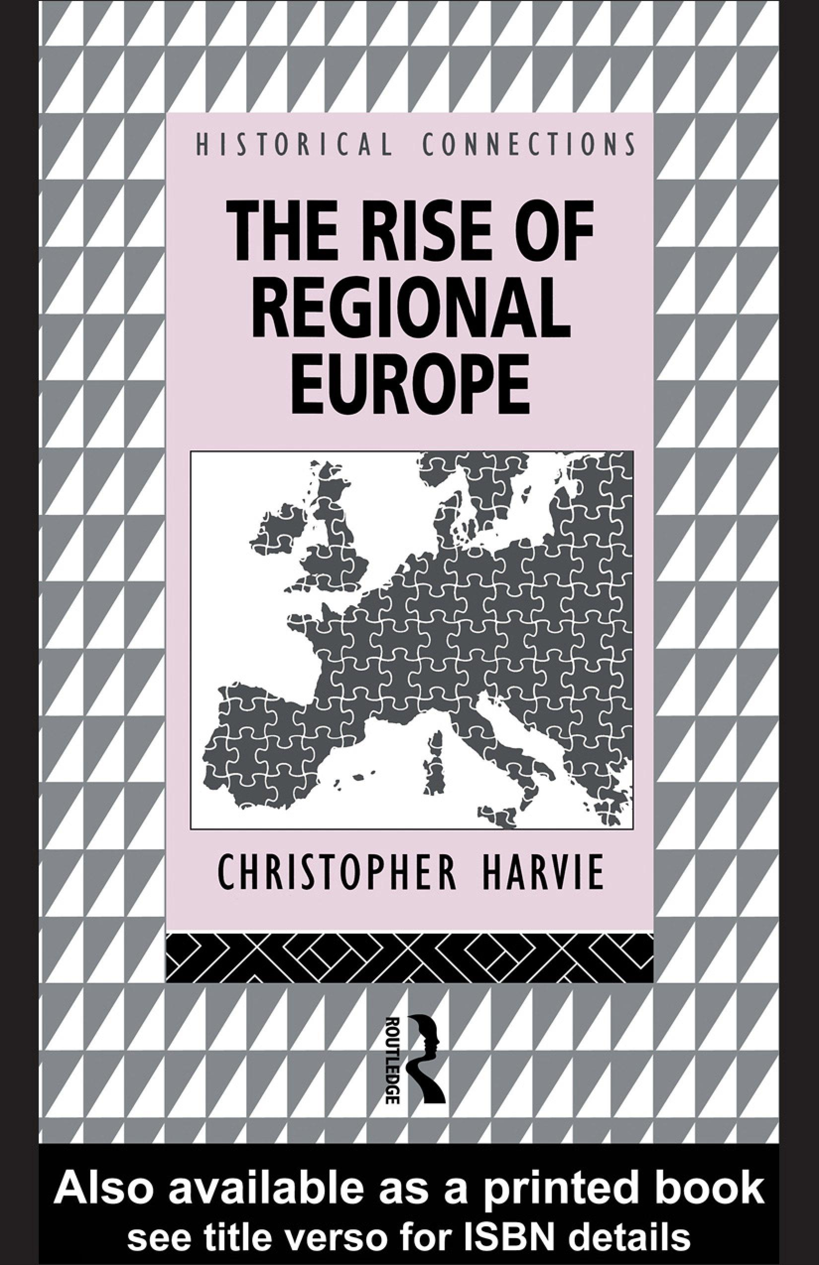 The Rise of Regional Europe EB9780203990483