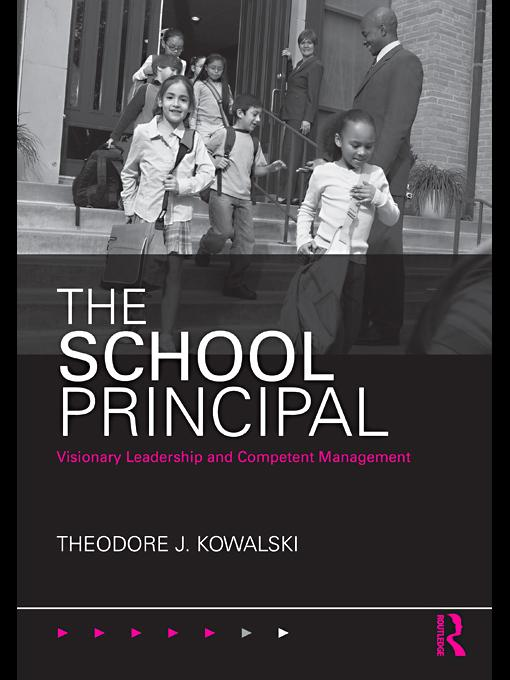 The School Principal EB9780203857397