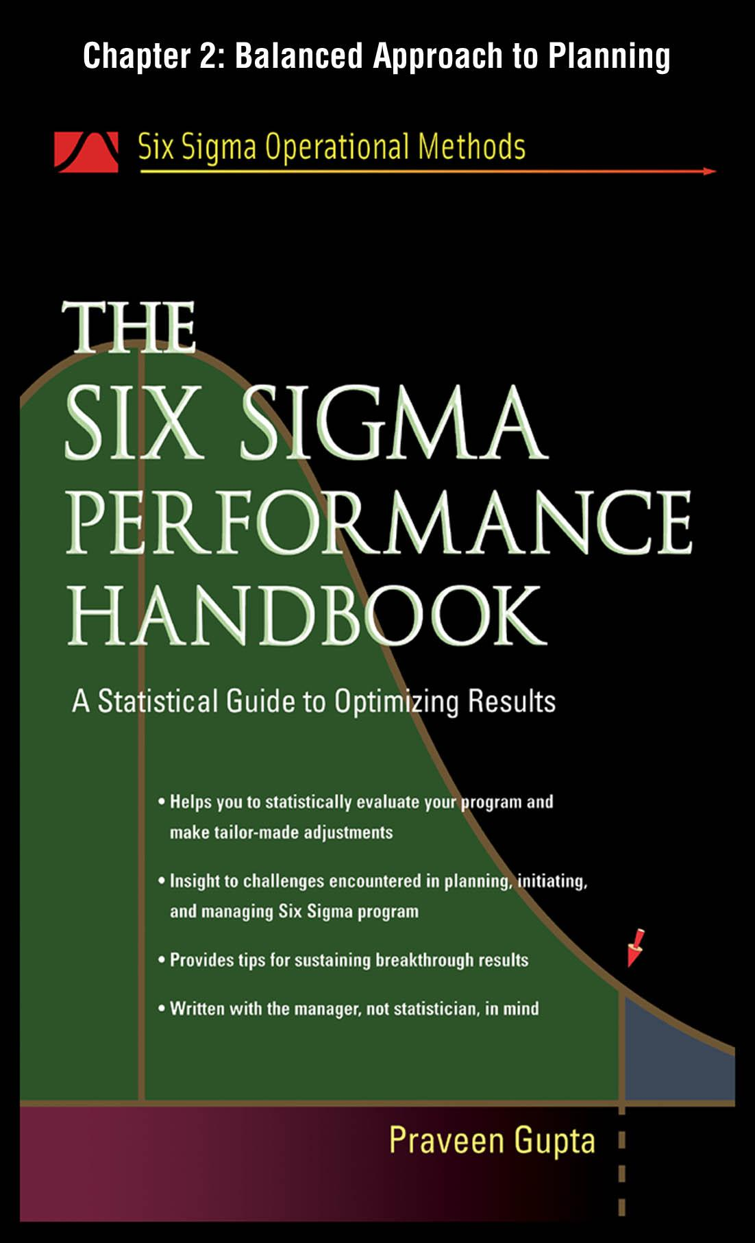 The Six Sigma Performance Handbook: Balanced Approach to Planning EB9780071735261