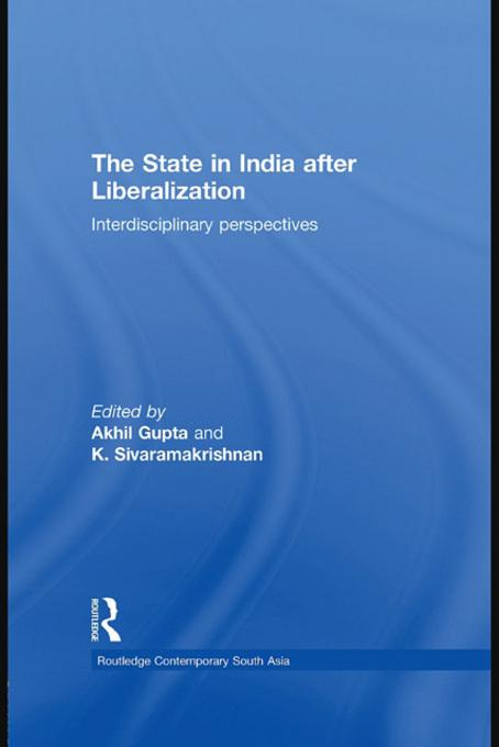 The State in India after Liberalization EB9780203846858