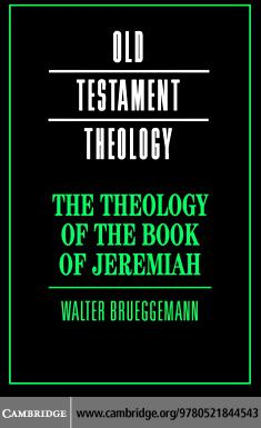 The Theology of the Book of Jeremiah EB9780511254758