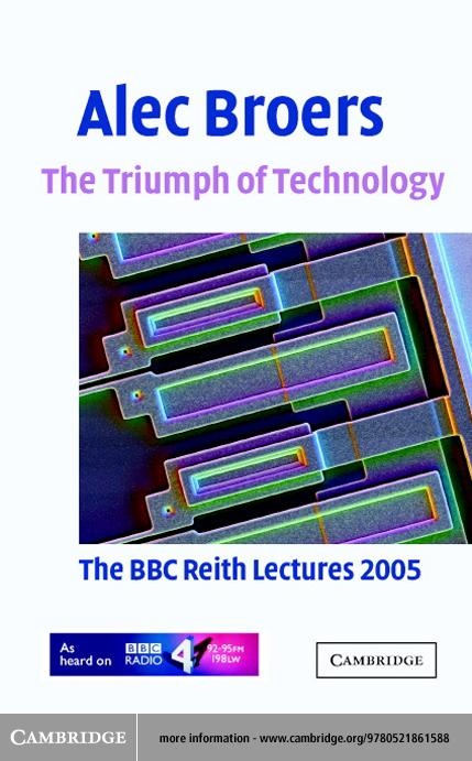 The Triumph of Technology EB9780511131561