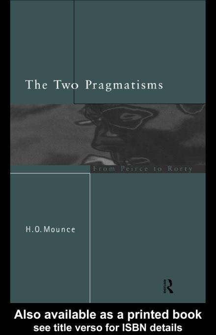 The Two Pragmatisms EB9780203209189