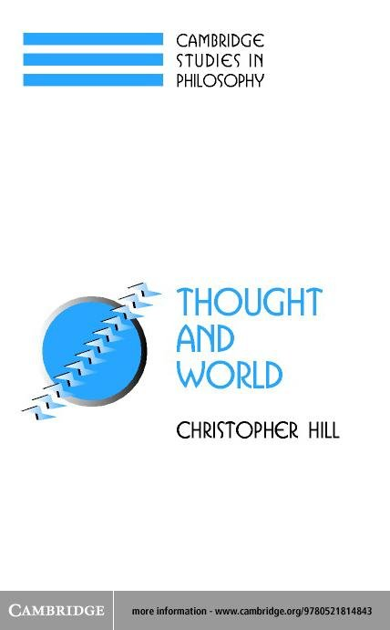 Thought and World EB9780511058639