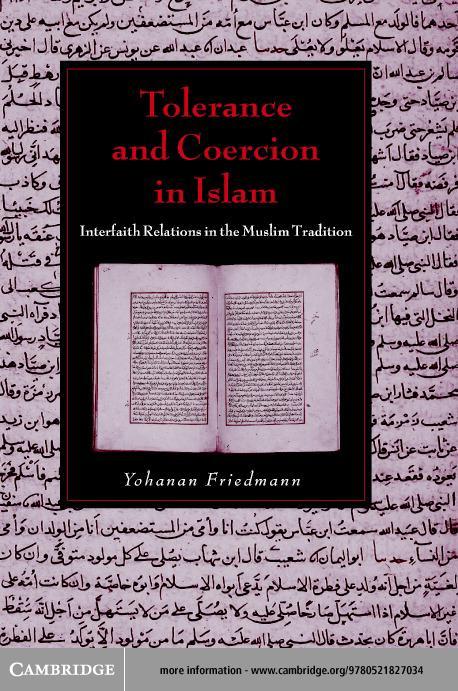 Tolerance and Coercion in Islam EB9780511056307