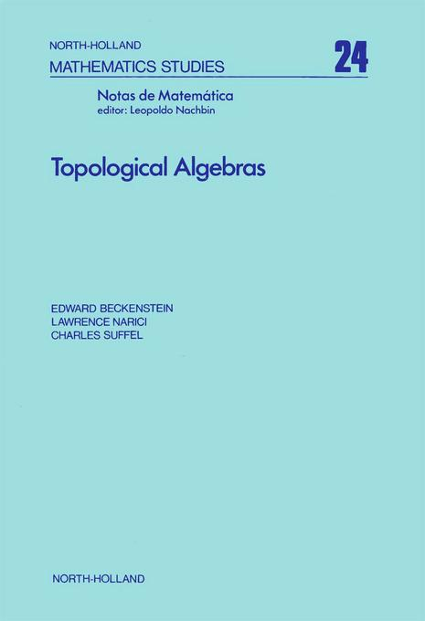 Topological algebras EB9780080871356