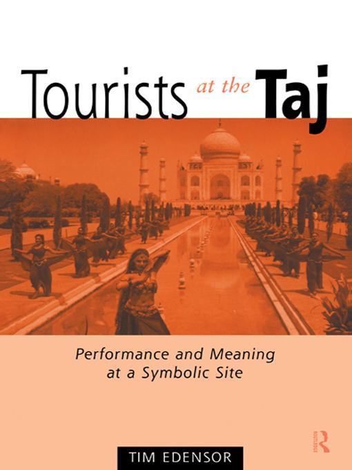 Tourists at the Taj EB9780203010655