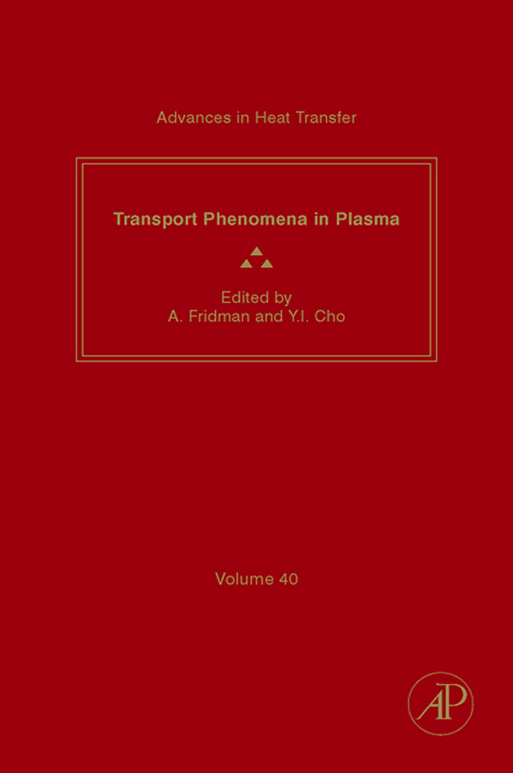 Transport Phenomena in Plasma EB9780080553719