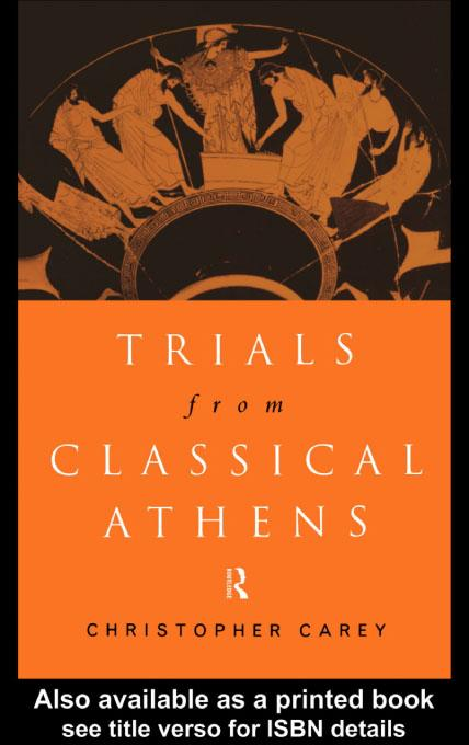 Trials from Classical Athens EB9780203130476
