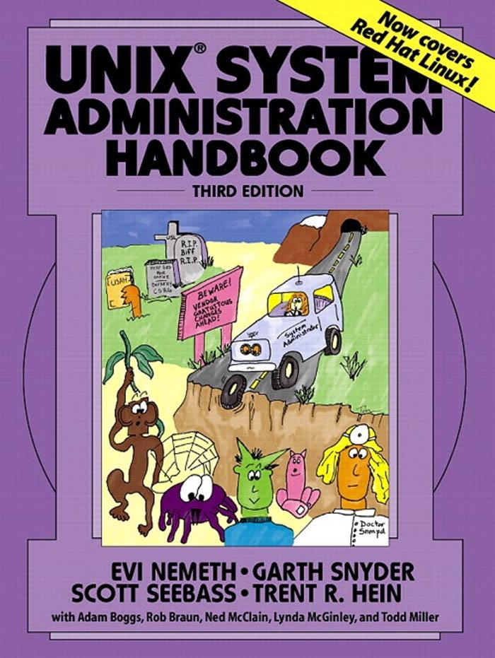 UNIX System Administration Handbook, 3/e EB9780135080955