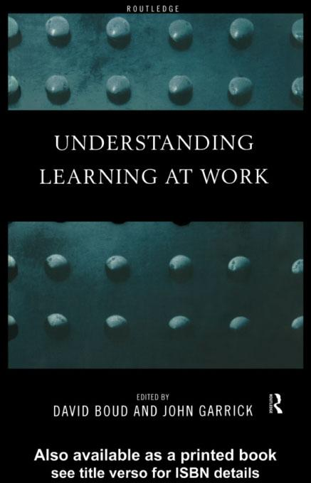 Understanding Learning at Work EB9780203020050