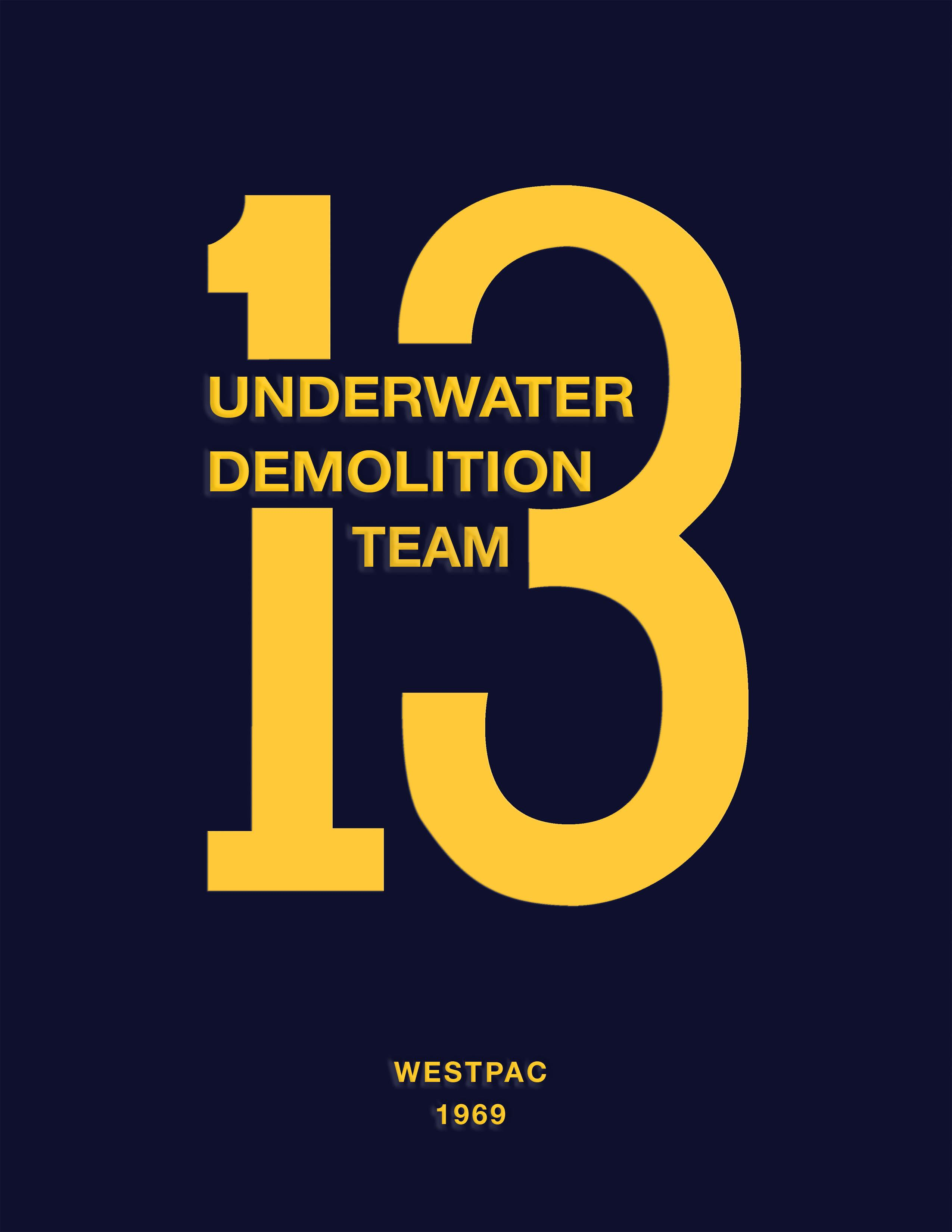 Underwater Demolition Team 13: Westpac 1969 EB9780978763756