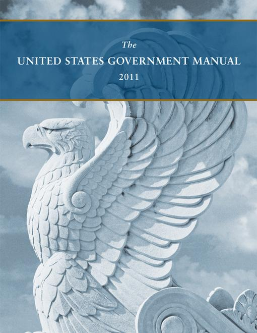 United States Government Manual 2011 EB9780160891830