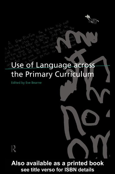 Use of Language Across the Primary Curriculum EB9780203334034